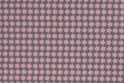 Beschichtete Baumwolle dunkelgrau/rosa
