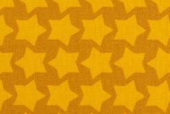 Beschichtete Baumwolle ocker/gelb 2