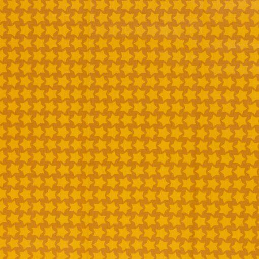 Beschichtete Baumwolle ocker/gelb
