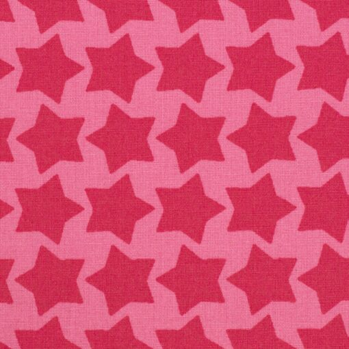 Beschichtete Baumwolle rosa/erika 2