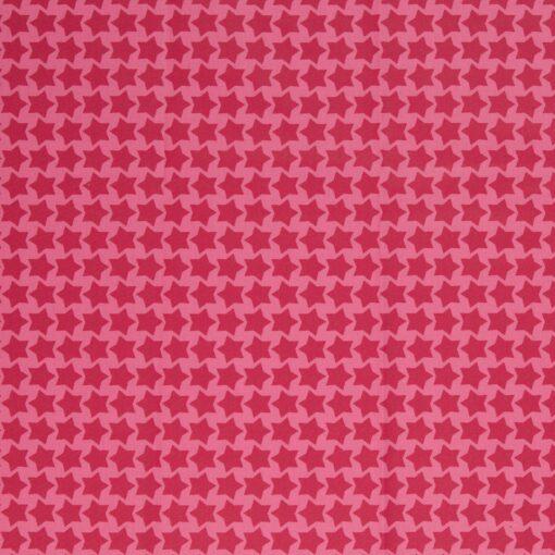 Beschichtete Baumwolle rosa/erika