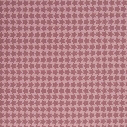 Beschichtete Baumwolle rosa/altrosa 1
