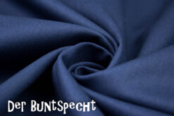 Baumwollstoff Heide dunkelblau 597