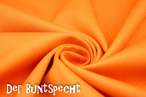 Baumwollstoff Heide orange 423