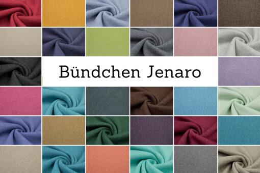 Bündchenstoff 'Jenaro' in vielen Farben erhältlich