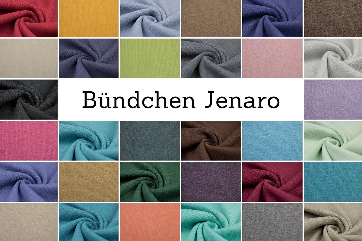 Bündchenware 50 x ca 34 cm im Schlauch uni türkis