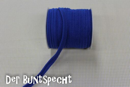 Elastisches Paspelband -Jersey royalblau