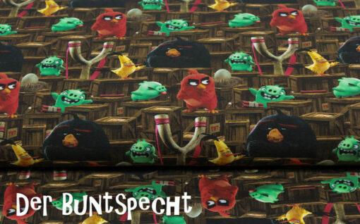 Baumwolljersey Angry Birds