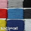 Band, Kordel, gedreht, rosa, rot, gelb, blau, weiß, grau, schwarz,