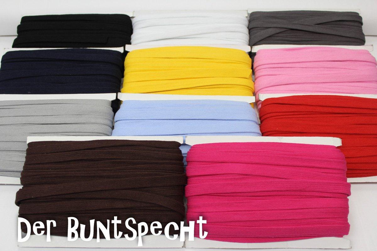 Band, gelb, schwarz, pink, rot, grau, marine, braun, schwarz, himmelblau,
