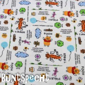 Kinderzeichnung, Winnie Puuh, Kinder, Tiger, gemalt, weiß, bunt, Honigtopf, Luftballon, Wolke, Ferkel,
