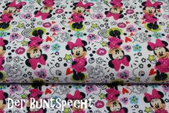 Maus, Minnie, pink, weiß, Mädchen, bunt, Schleifen, Blumen, Herzen,