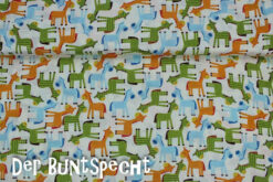 BaumwollstoffMuster Giraffen