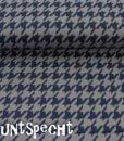 Strickstoff -Sara Hahnentritt- marine-grau