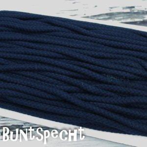 5mm Baumwollkordel gedreht marine