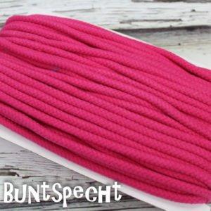 5mm Baumwollkordel gedreht pink
