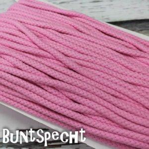 5mm Baumwollkordel gedreht rosa