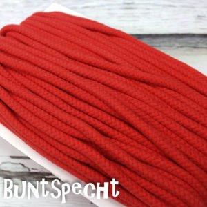 5mm Baumwollkordel gedreht rot