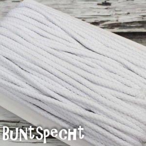5mm Baumwollkordel gedreht weiß