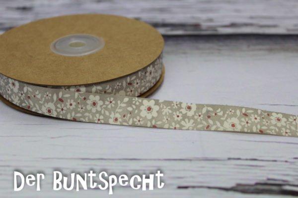 Baumwollband -Flowers-