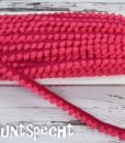 Bommelborte pink