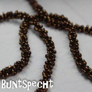 Perlenband braun-2