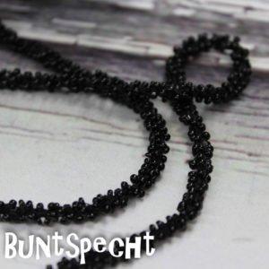 Perlenband schwarz-2