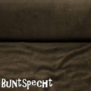 Wellnessfleece -Kuschelig weich- dunkelbraun_