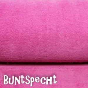 kuschelig weich pink