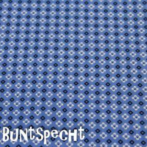 BW Stoff -Kimba BLUMEN- blau-2