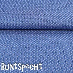 BW Stoff -Kimba Kringel- blau