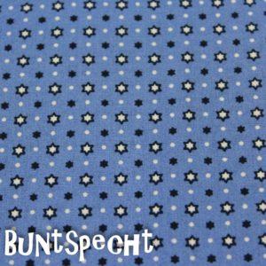 BW Stoff -Kimba STERNE- blau-2