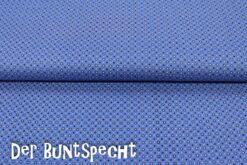 BW Stoff -Kimba STERNE- blau