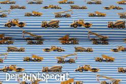 Baumwolljersey Malte´s Baustellenfahrzeuge