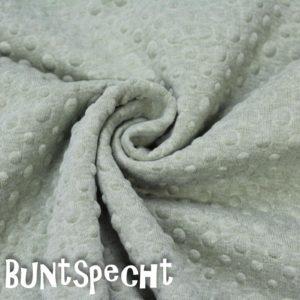 Sweatshirtstoff geprägt gruen 2