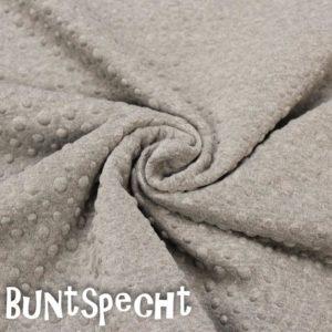 Sweatshirtstoff geprägt sand 2
