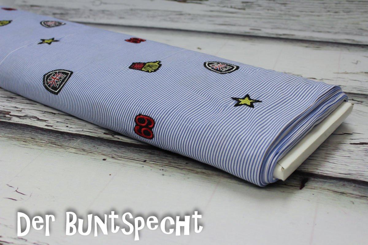 7bf4710f4e Baumwollstoff Sticker - Der-Buntspecht-Shop