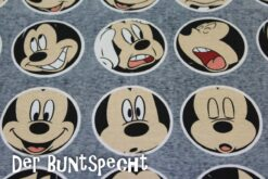 Disney Jersey – Mickey – Faces- 2