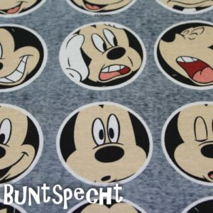 Disney Jersey - Mickey - Faces 2