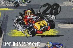 Disney Jersey – Mickey Mouse- Racer 28- grau 2