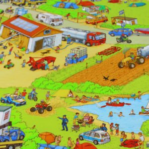 Jersey Wimmelbuch Bauernhof