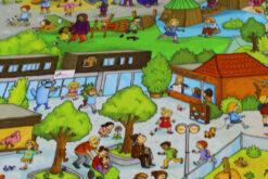 Jersey Wimmelbuch Zoo