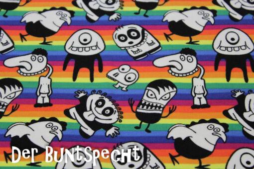 Streifenjersey -Crazy Monster