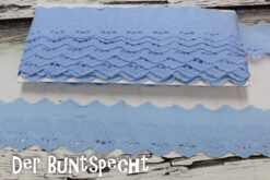 BW-Spitze -Leni- Herzen hellblau