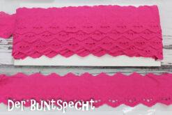 BW-Spitze -Leni- Herzen pink