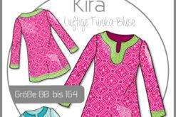 Schnittmuster Kibadoo Kinder Tunika Bluse Kira 80 bis 164