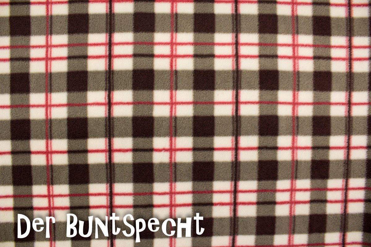 c437cd7d36 Fleece Stoff Karo - Der-Buntspecht-Shop