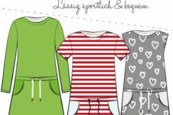 Papierschnittmuster für das Kinderkleid Pia von Fadenkaefer