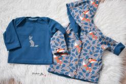 Nähbeispiel Muster Sweatshirt Stoff Autumn Foxy