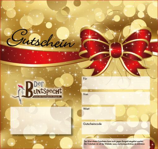 Geschenkgutschein Vorlage 3